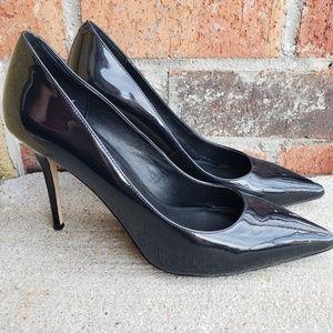Pointed Toe Stiletto Heel Shoes WHBM Black 9 M